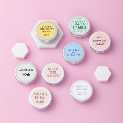 Personalised Lip Balm