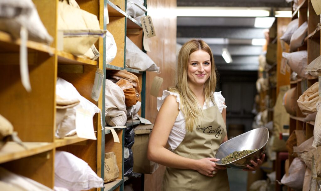 Cecily Fearnley, founder of Sweet Cecily's