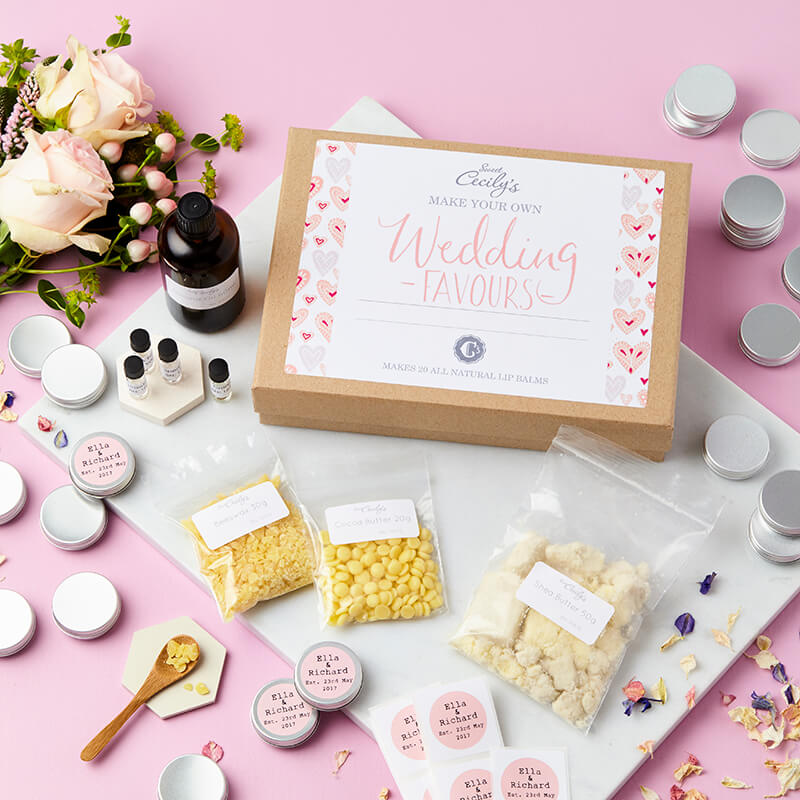 Make Your Own Wedding Favor Ideas: Create Your Own Personalised Wedding Favour Lip Balm Kit