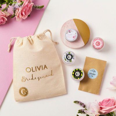 SC075 Bridesmaid Skincare Collection Personalised