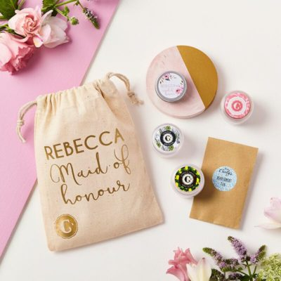 SC076 Maid of Honour Skincare Collection Personalised